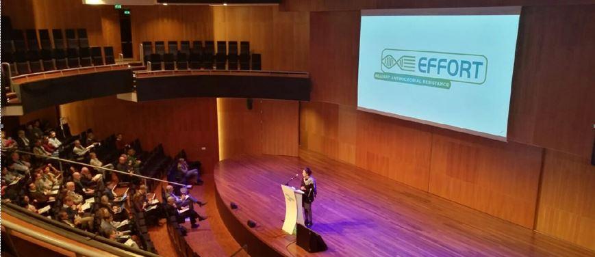 Keynote Louise Fresco opening the EFFORT International Conference